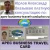 APEC Business Travel Card карта