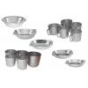Алюминиевые тарелки,  кружки и стаканы .
