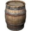 Бочки для вина из колотого дуба.