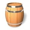Дубовые бочки для вина.  Кадки для засолки огурцов и помидоров.