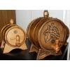 Дизайнерская дубовая бочка для коньяка,          вина,         виски