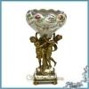 Продаётся ваза из фарфора и бронзы Танцующие нимфы,  копия старинного