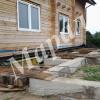 Заменить фундамент, установить дом на металло-каркас
