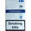Продам оптом compliment 25 Синие и Коричневые (480 пачек)  сигареты 47