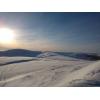 Катание на снегоходах на Кольском