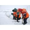 Уборка снега с кровли Невский район