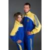Спортивная одежда с символикой Украины.