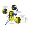 Комплект для заливки колонн сечением от 200 до 600 стальной